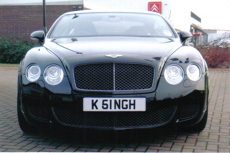 Ajay's Bentley