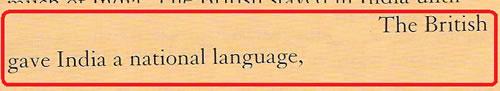 Rob nolasco and David Newbold - British Gave India a National Language