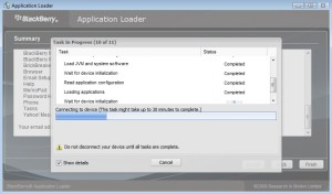 Blackberry 8230 Curve Smartphone Application Loader