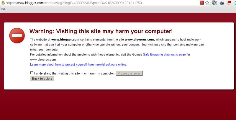Google Webmaster Blog Affected With Malware