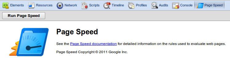 Google Page Speed for Chrome