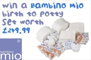 Win a Bambino Mio birth to potty set worth £249.99