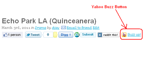 Add Yahoo Buzz Button to Wordpress