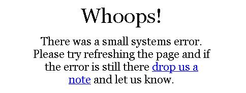 Wordpress.com Global Dashboard Error