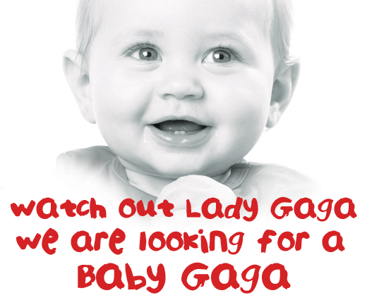 Baby Gaga competition