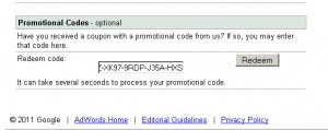 How To Redeem Google AdWords Gift Card