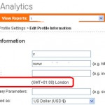 Google Analytics – How To Change Time Zone
