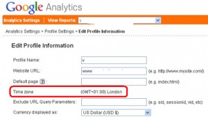 Google Analytics – How To Change Time Zone