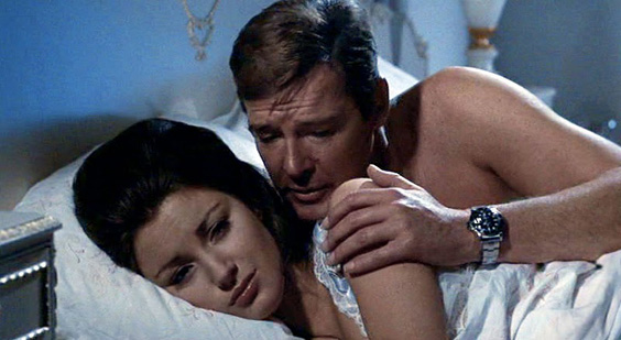 Roger Moore Wearing Rolex Submariner In Live And Let Die