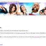 WordPress Page Format Problem