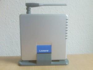 Linksys WAG54GS Wireless-G ADSL Gateway with SpeedBooster For Sale