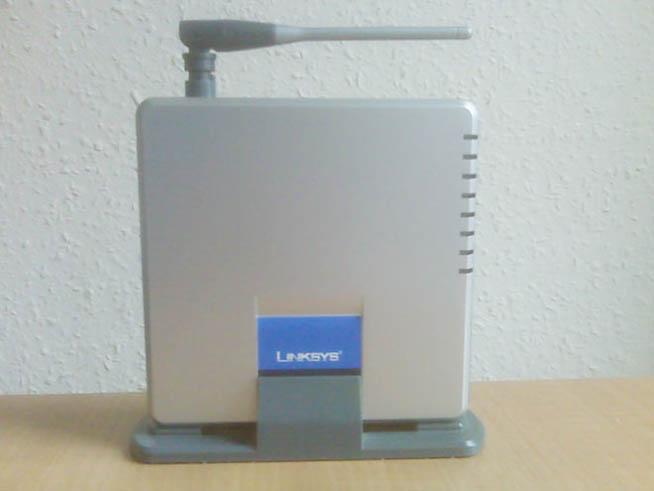 Linksys WAG54GS Wireless-G ADSL Gateway with SpeedBooster