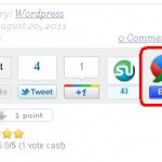 Google Buzz Count Button For WordPress