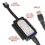 IOMAX USB 2.0 To SATA/IDE Adapter