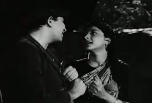 Raj Kapoor and Nargis in Shree 420