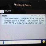 Solving the mystery of text message which costed me £5 to receive