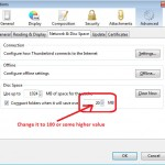 "How To Disable ""Compact Now"" Message In Thunderbird"