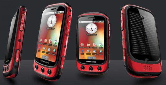 Ameox Apollo Solar Mobile Phone