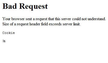 Paypal Error: aBad Request