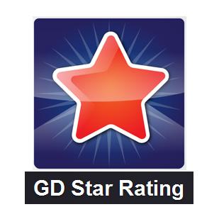 GD Star Rating WordPress plugin