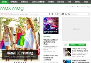 Best Responsive WordPress Magazine Themes
