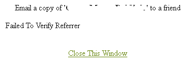 WP-Email Error - Failed To Verify Referrer