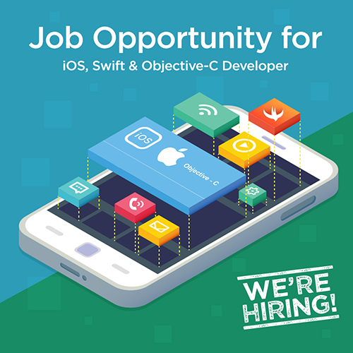 ios, objective-c, swift, developer job