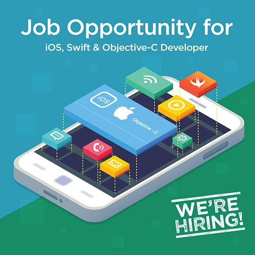 ios, objective-c, swift, developer job